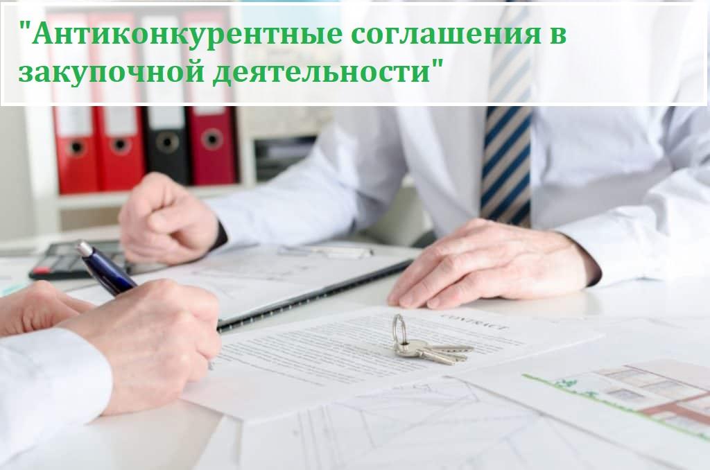 «Антиконкурентные соглашения в закупочной деятельности»